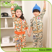 High quality 2015 latest cheap clothes sets cool suits kids new Korean design clothing sets for kids