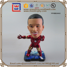 Custom People Bobble Head Resin New Fashion Bobbleheads
