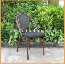 Rattan Bistro bamboo Chairs for Cafe Shop or Restaurant bamboo like chair
