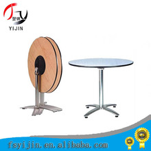ot selling Manufacturer used hotel round laminate cocktail table