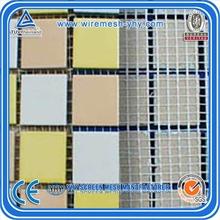 110gr 4*5mm 1m*50m fiber glass mesh nets for glass mosaic/fiberglass mosaic tile mesh netting