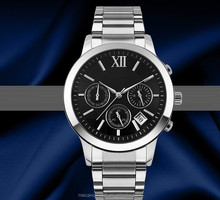 Popular Stainless Steel Case and Band Watches For Male, High Quality Men Watches