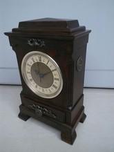 pendulum wall clock day month year clock backwards running clock