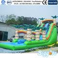 gigante slide piscina inflável para o adulto