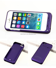 Provide OEM /ODM service For iphone5 5s backup battery case, charger battery case for Iphone 5