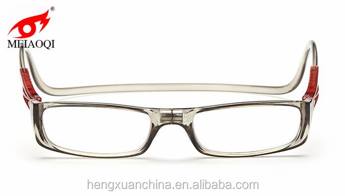 2016 update style hang neck magnetic split reading glasses