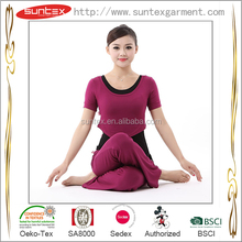 Young girls favorite sportswear yoga 3 pieces sets clothing