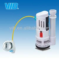 UPC toilet flush valve repair kit high quality pressure toilet flush valve wire control with dual push button