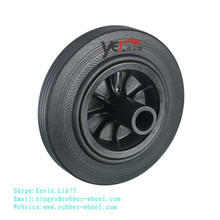 200-50/100 Rubber wheel for 120L 240L waste bin