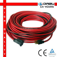 Colorful Wire 50Ft Extension Cord With Male and Female Plug