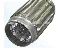 Flexible exhaust expansion bellow pipe