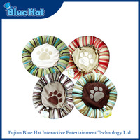 wholesale high quality washable round pet bed for dogs