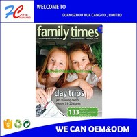 Soft Cover Glossy Paper A3 Magazine Printing