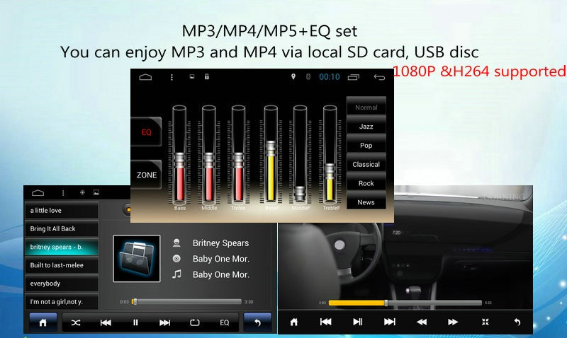 Ugode 2016 New Product 8 U0026quot  Touch Pad Android Car Dvd For