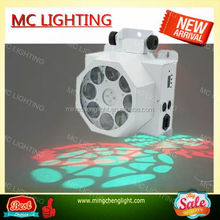 2015 LED eight gobo rotating effect stage light for sale