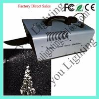 3-Year Warranty Stage Disco DJ Wedding Used Wireless Control 600W Small Snow Machine