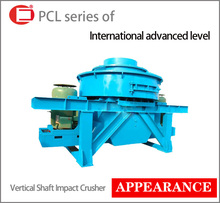 Small light weight limestone vertical crusher
