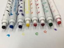 color stamp marker,stamp water color pen,washable stamp pen