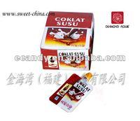 Flavored chocolate susu