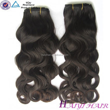 2015 New Arrival Aliexpress Full cuticle natural color human hair weaving water curl