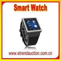 1.54Inch 240 x 240 Display 2.0 MP Camera MTK 6577 Dual Core 3G WIFI Bluetooth Smart Watch Mobile Phone