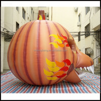 NB-HW3005 2015 hot selling weird unique giant halloween decoration inflatable pumpkin
