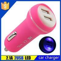 Best Price Quality Factory Portable Dual Universal USB Car Charger for Mobile Phone Battery Charging