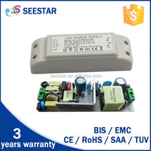 passing CE SAA TUV switching power supply high pf external flood light down light constant current dimmable led driver