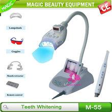 M-55 Blue led light teeth whitening/led teeth whitening lamp / teeth whitening pen kits