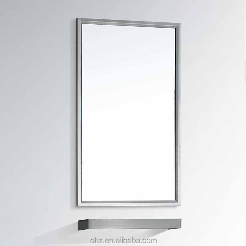 high painting stainless steel fram bathroom plastic vanity