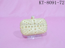 Fashion Design The Union Jack Flag Rivet Lady Party Minaudiere Clutch Evening Bag Cosmetic Bag