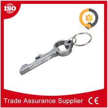 Cheap bulk antique aluminum key ring bottle opener