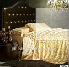 Wholesale 16Momme 4 Pcs Classical Silk Bedding Set / Luxurious silk bedding sheet, quilt cover and pillowcase