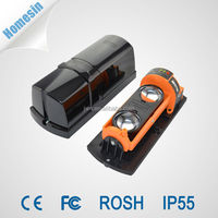 Infrared Beam Barrier Detector Alarms With Digital Signal