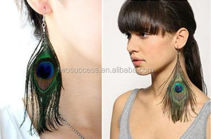 peacock feather earrings (7)