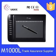 Ugee M1000L alta presión sensibilidad tablero de dibujo magnética