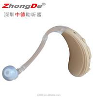 Digital programmable hearing aid for elderly