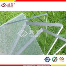 Fábrica de grado A - planchas de policarbonato transparentes