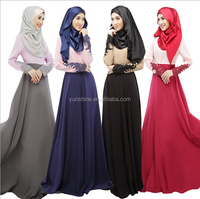 Instock Hot Sale Middle East Design Kaftan Muslim Women Formal Abaya Dress Designer One Piece Party Dress