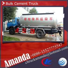 Dongfeng 4 * 2 190hp heavy duty 16 cbm usado em massa cimento petroleiro caminhão a granel caminhão de cimento