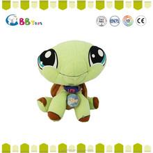 Special needs educational toys tortoise plush animal dolls for kids