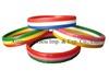 Scented rainbow silicone wristband
