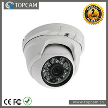 CMOS 1000TVL Vandalproof IR Dome Camera 3.6mm Fixed Megapixel Lens 24 pcs IR Led 20M IP65