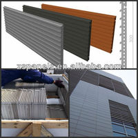 Cheap Coating terracotta panel for exterior wall, new buidling construction material, Decorative Panel For Modern Building