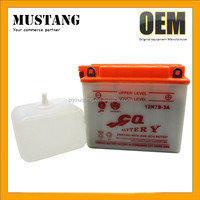 12V 7Ah Motorcycel Lead Acid Battery Fast Charging and Long Service Time for Motorcycles ATVs Moped AND Scooters