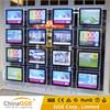 Real Estate Agency Window Crystal Acrylic Light Box LED Window Display Light Box