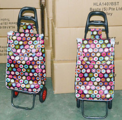 Hand cart hot sale trolley travel bag with wheels