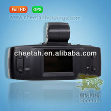 2013 hot sale car video camera recorder GS1000 with night vision+GPS
