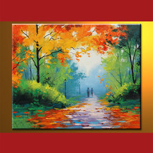 Wholesale Handmade Oil Paintings Of Forest