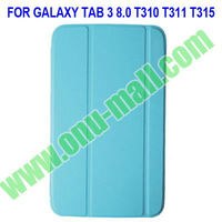 Ultrathin Leather Case For Samsung Galaxy Tab 3 8.0 T310 T311 T315 with Auto Sleep Function